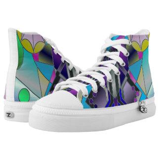 Sea Window Printed Shoes