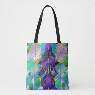 Sea Window Tote Bag