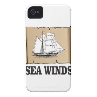 sea winds go iPhone 4 Case-Mate case