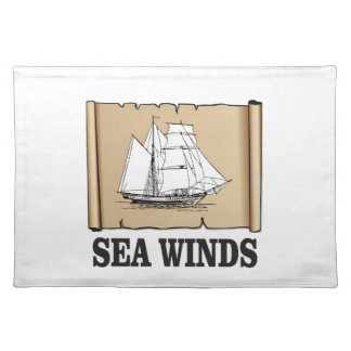 sea winds go placemat