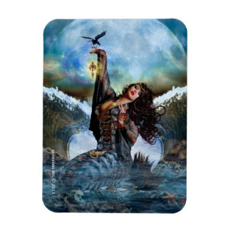 Sea Witch Magical Mermaid Flexi Magnet