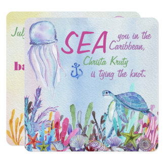 Sea You at the Bachelorette Weekend Card