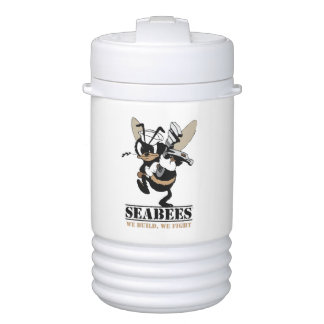 Seabees We build We Fight Half Gallon Drink Cooler