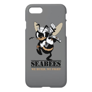 Seabees We build We Fight Phone Cover