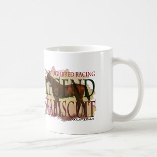 Seabiscuit - Thoroughbred Racing Legend Coffee Mug