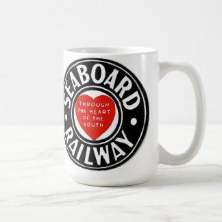 Seaboard Air Line Railway Heart Logo Coffee Mug