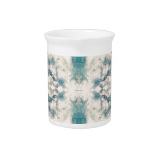 Seafoam 2 pattern pitcher