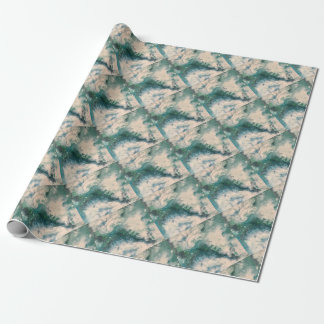 Seafoam 2 wrapping paper