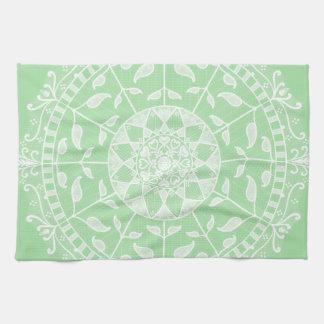 Seafoam Mandala Tea Towel