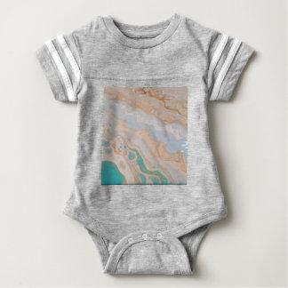 Seafoam Shore Baby Bodysuit