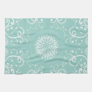Seafoam Swirl Tea Towel