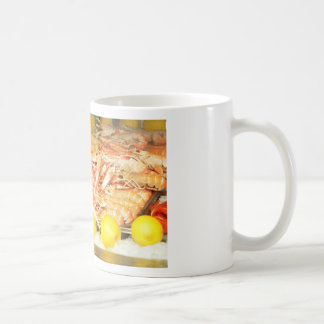 Seafood Basic White Mug