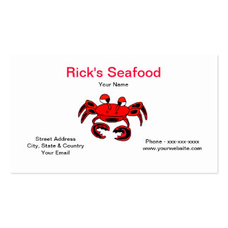 Seafood Business card