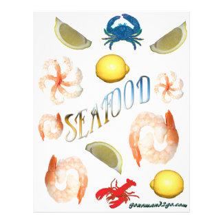 Seafood! Custom Flyer