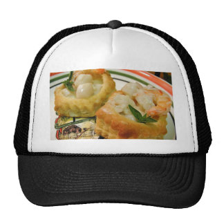 Seafood In Pastry Hat