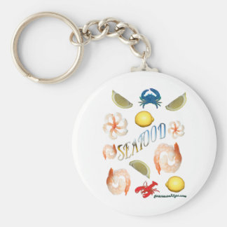 Seafood! Key Chains