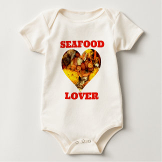 SEAFOOD LOVER BABY BODYSUITS