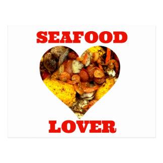 SEAFOOD LOVER POSTCARD