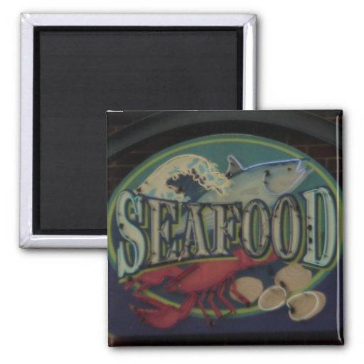 Seafood Fridge Magnet