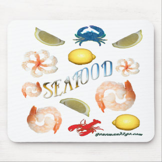 Seafood Mouse Pads