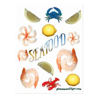 Seafood! Postcard