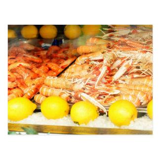 Seafood Postcard
