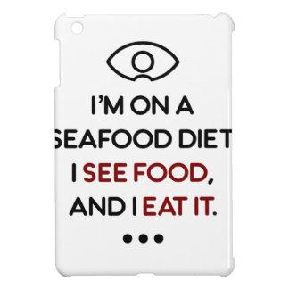 Seafood See Food Eat It Diet iPad Mini Cover