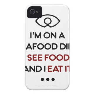 Seafood See Food Eat It Diet iPhone 4 Covers