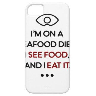 Seafood See Food Eat It Diet iPhone 5 Case