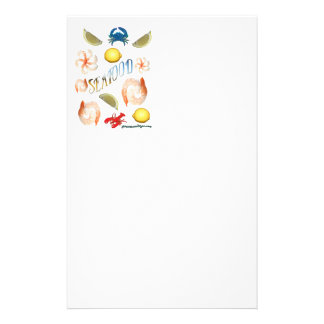 Seafood! Stationery Paper