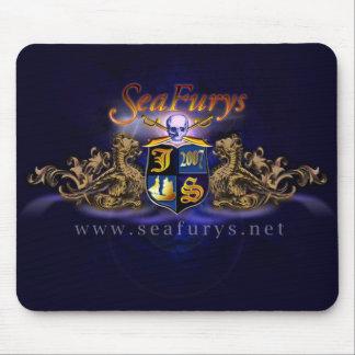 SeaFurys Shield (Blue) Mousepad