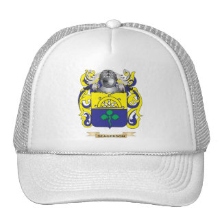 Seagerson Coat of Arms (Family Crest) Trucker Hat