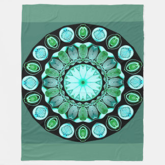 Seaglass Fleece Blanket