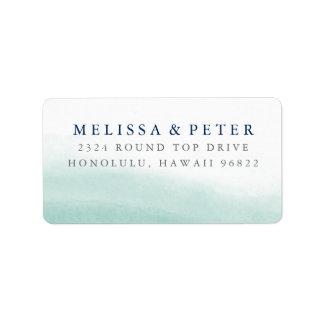 Seaglass Tides Return Address Address Label