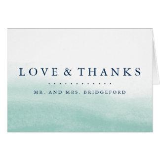 Seaglass Tides Thank You Card
