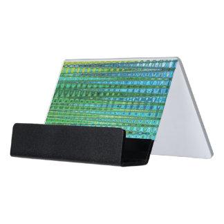 Seagrass Desk Business Card Holder