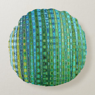 Seagrass Round Throw Pillow by C.L. Brown