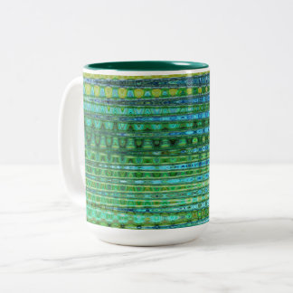 Seagrass Two-Tone Mug by Artist C.L. Brown