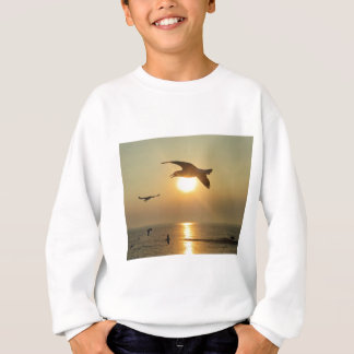 Seagull at Sunset Sweatshirt
