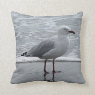Seagull at Waters Edge Cushion