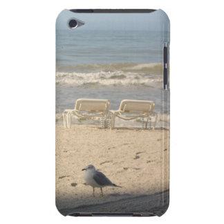 Seagull Beach Chairs Ocean iPod Touch Case