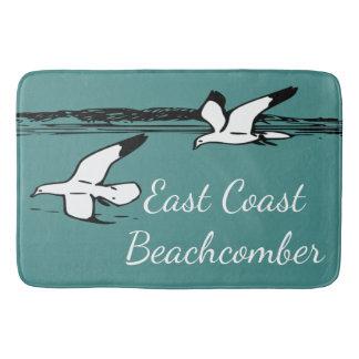 Seagull Beach East Coast Beachcomber Bathroom mat