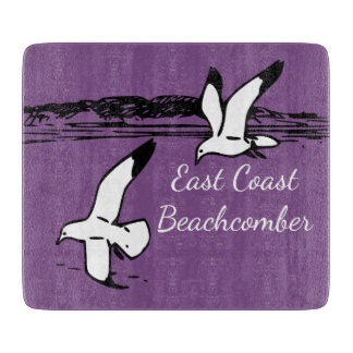 Seagull Beach East Coast Beachcomber cutting board