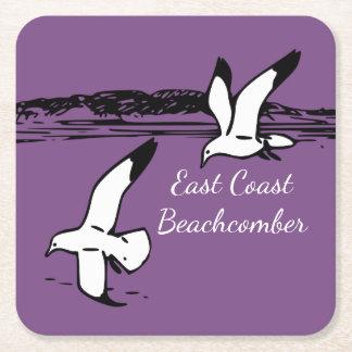 Seagull Beach East Coast Beachcomber drink coaster