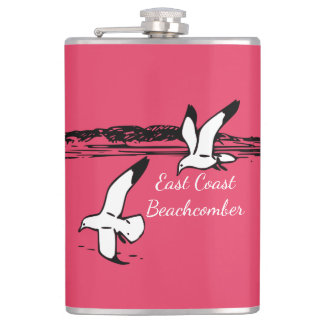 Seagull Beach East Coast Beachcomber flask