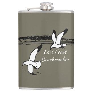 Seagull Beach East Coast Beachcomber flask
