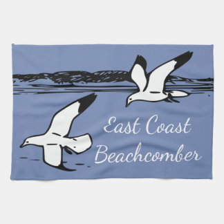 Seagull Beach East Coast Beachcomber kitchen towel