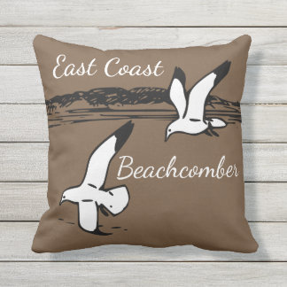 Seagull Beach East Coast Beachcomber outdoor Outdoor Cushion