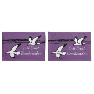 Seagull Beach East Coast Beachcomber pillow cases
