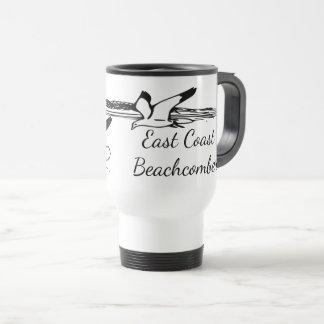 Seagull Beach East Coast Beachcomber travel mug